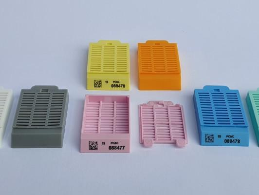Cassete para biopsia